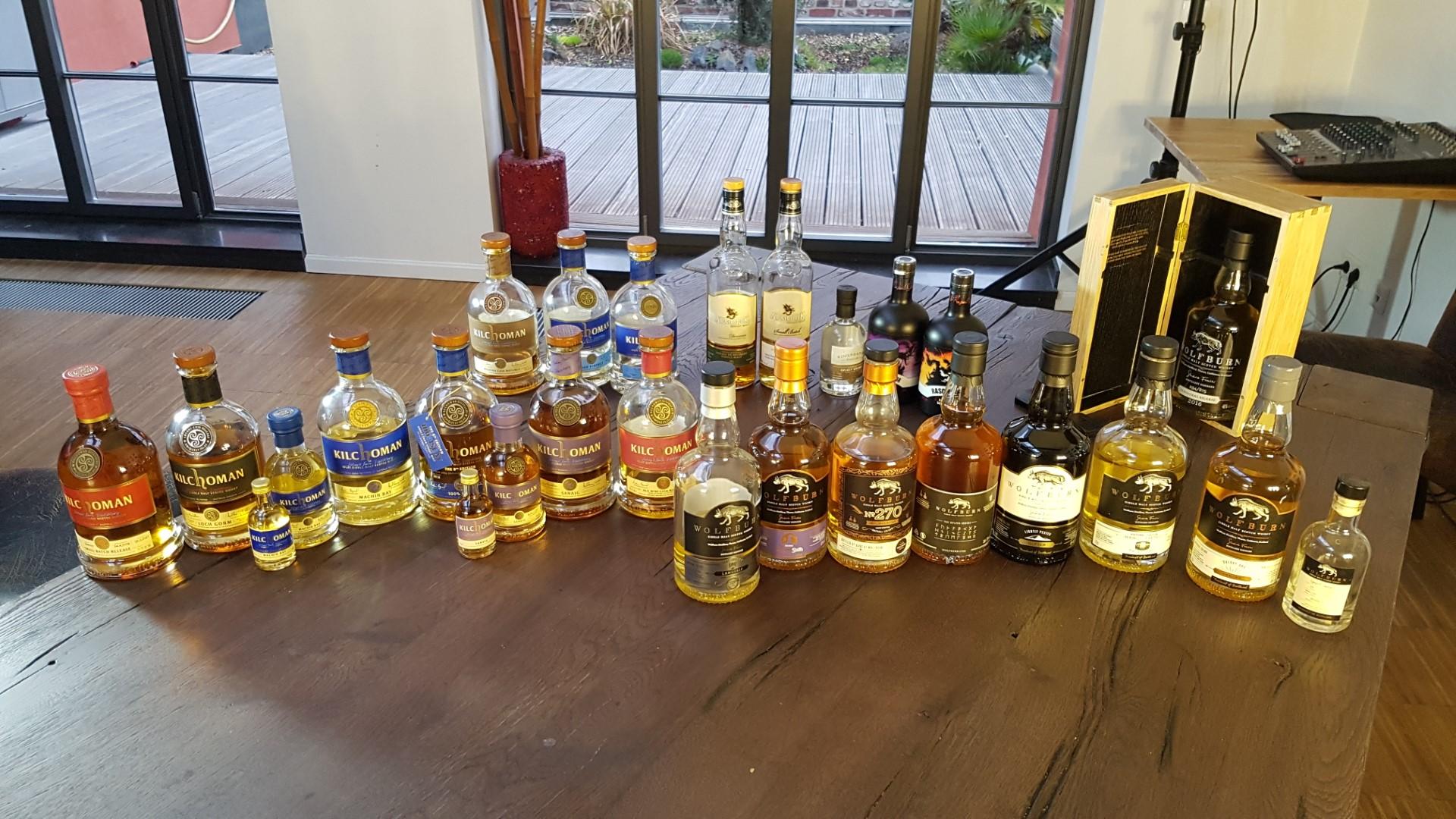 Craft Distilleries Whisky Tasting